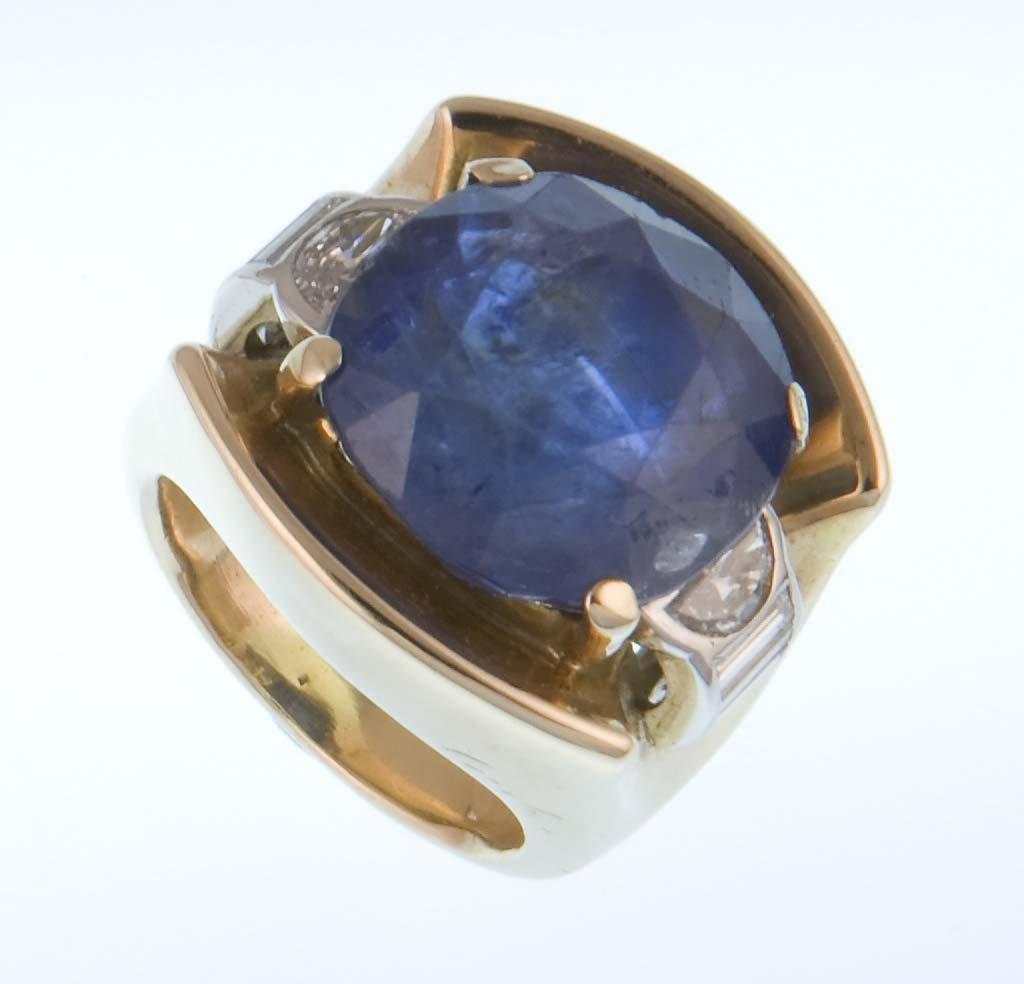 A 1950s sapphire Cartier ring