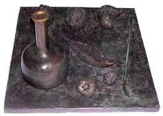 22A: MIHAIL CHEMIAKIN  Original Copper Sculpture
