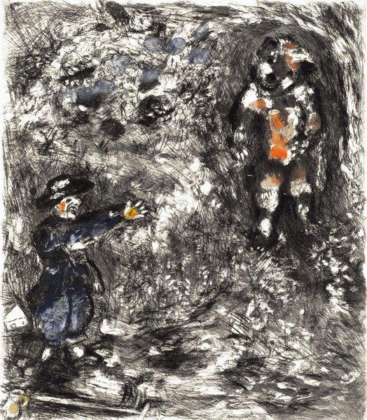 1B: MARC CHAGALL  Fables de La Fontaine