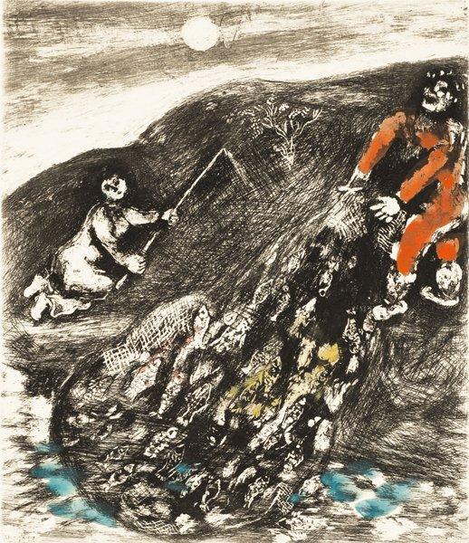 6B: MARC CHAGALL  Fables de La Fontaine