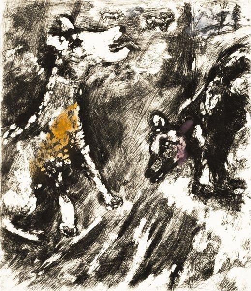 8B: MARC CHAGALL  Fables de La Fontaine