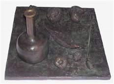 19B: MIHAIL CHEMIAKIN  Original Copper Sculpture