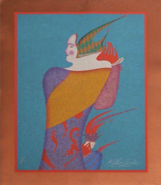 72A: MIHAIL CHEMIAKIN Portrait of V. Nijinsky