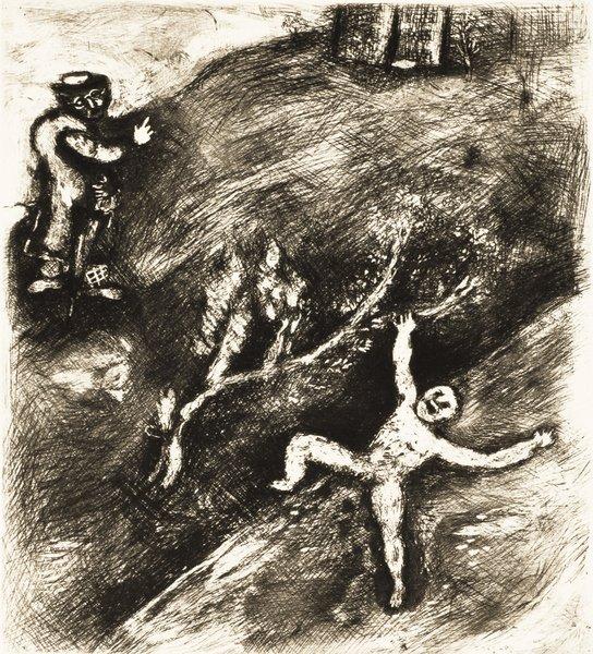 16B: MARC CHAGALL Fables de La Fontaine: L'Enfant et le