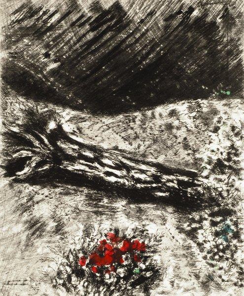 23B: MARC CHAGALL Fables de La Fontaine: Le Chêne et le