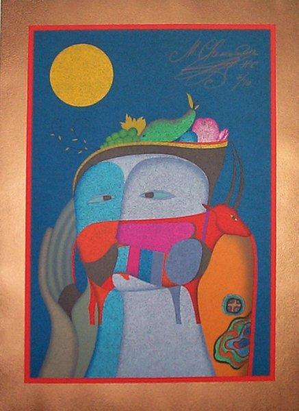 62B: MIHAIL CHEMIAKIN Metaphysical Self Portrait