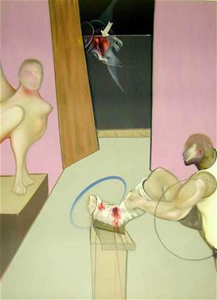 FRANCIS BACON Oedipus and the Sphynx