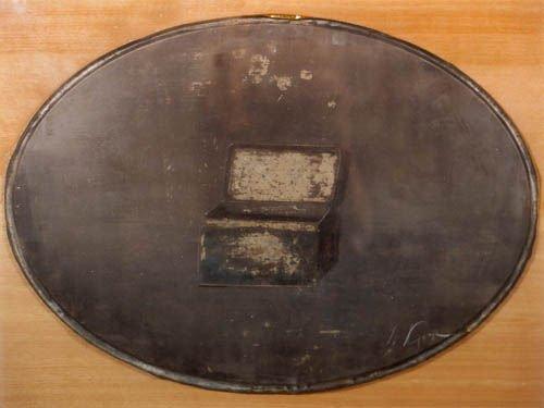 134: YURI KUPER  Box in Oval