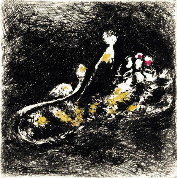14A: MARC CHAGALL  Fables de La Fontaine