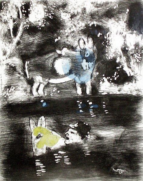 15A: MARC CHAGALL  Fables de La Fontaine