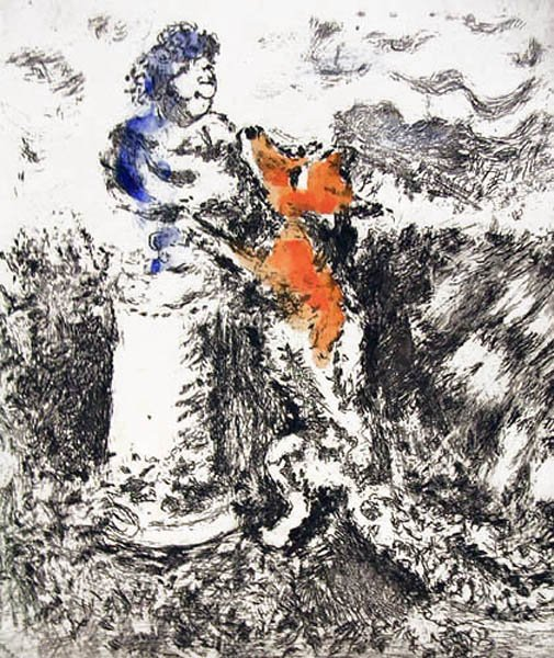 17A: MARC CHAGALL  Fables de La Fontaine
