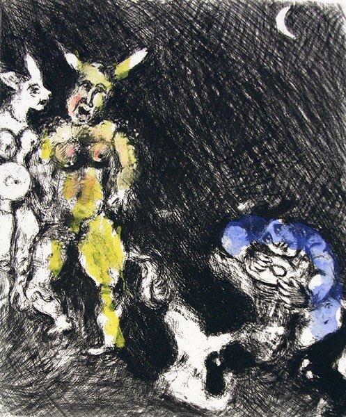 18A: MARC CHAGALL  Fables de La Fontaine