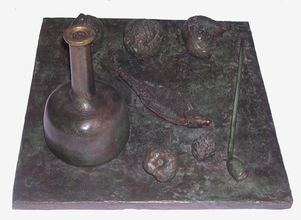 24: MIHAIL CHEMIAKIN  Original Copper Sculpture