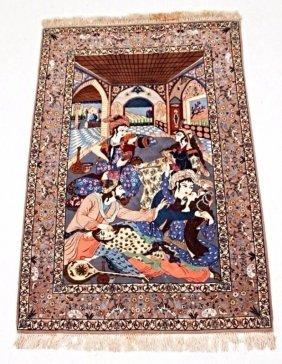 A Very Fine Persian Isphahan Rug