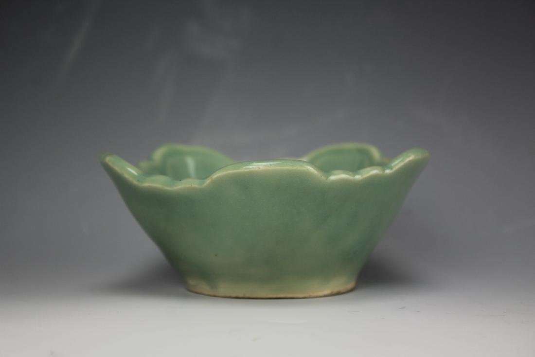 A celadon porcelain bowl