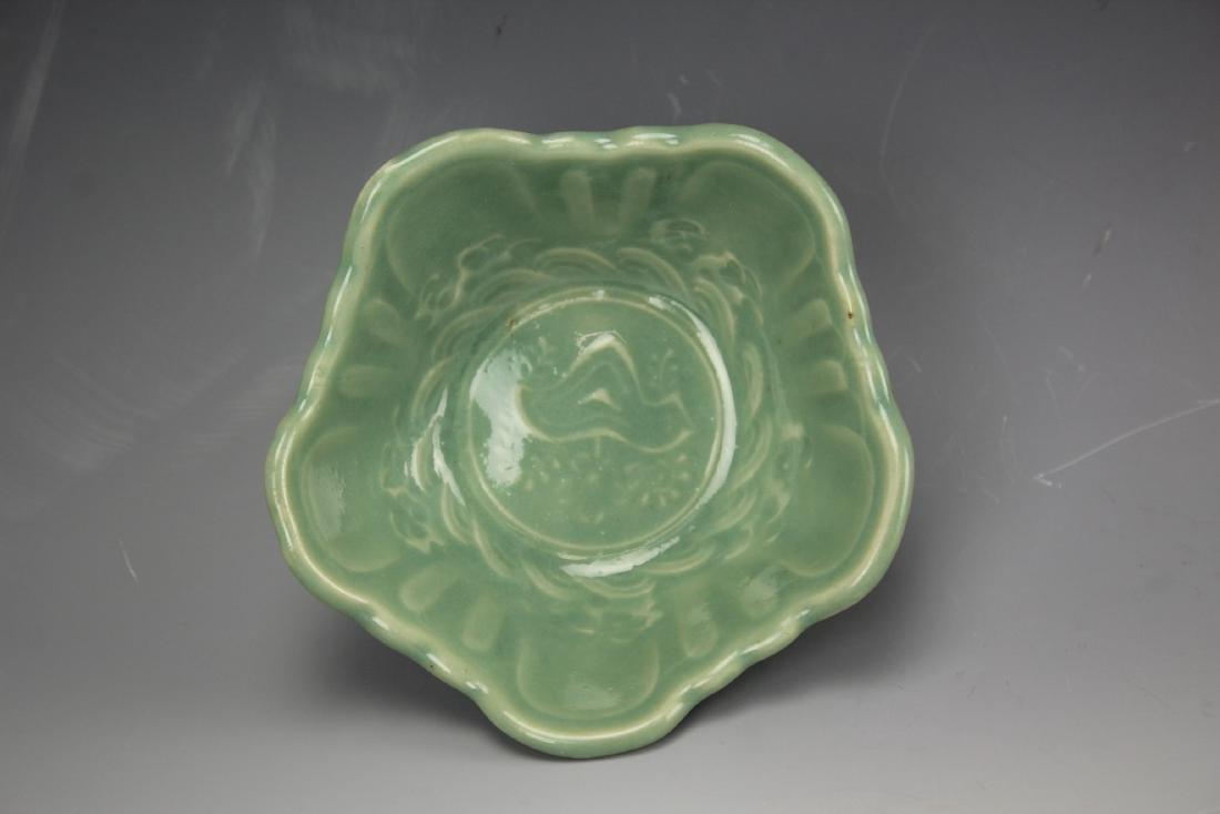 A celadon porcelain bowl - 6