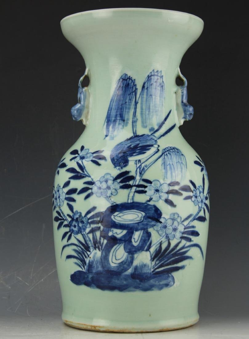 A Blue & White celadon porcelain from Qing dynasty