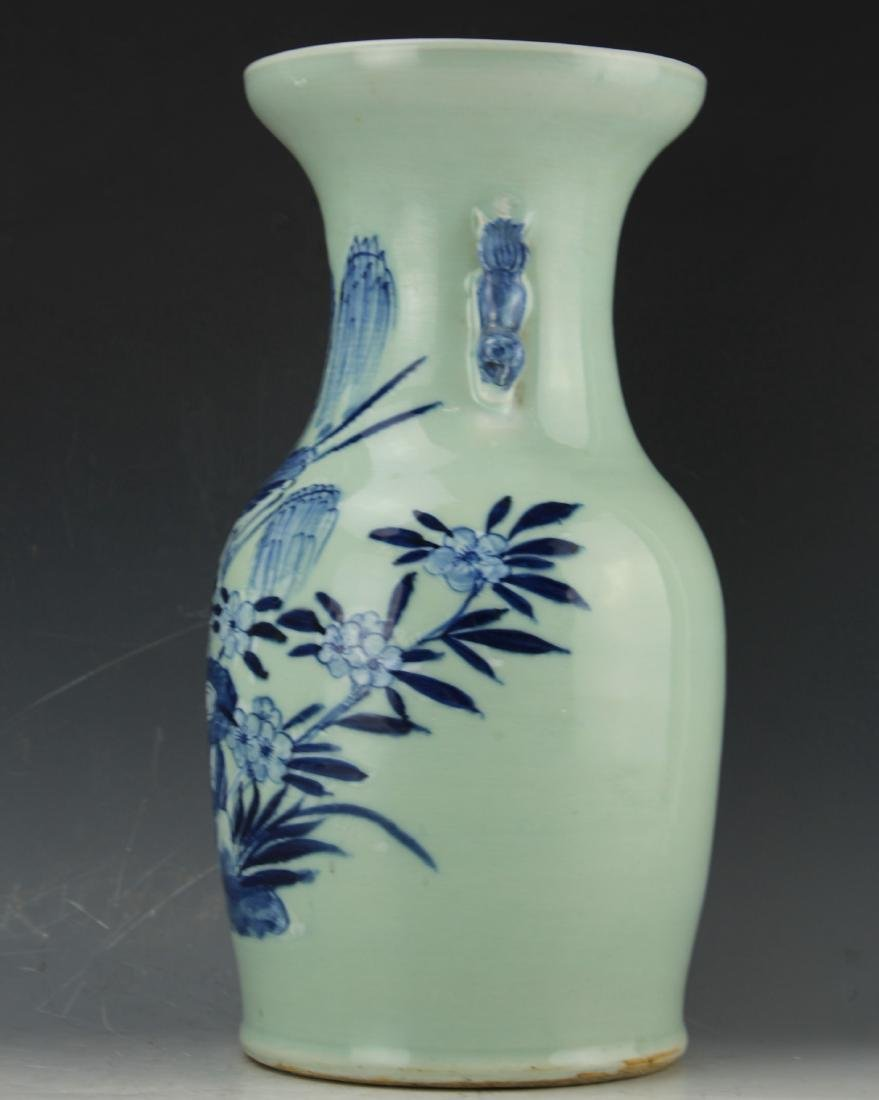 A Blue & White celadon porcelain from Qing dynasty - 4