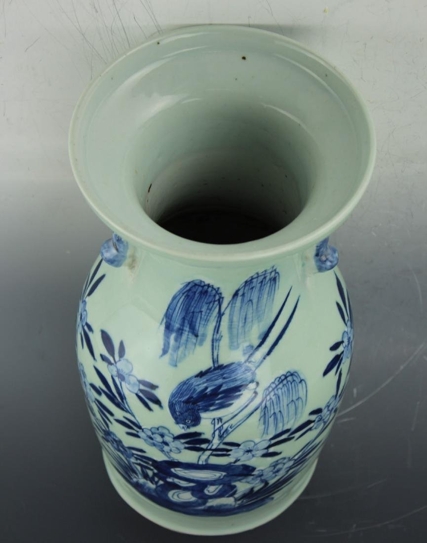 A Blue & White celadon porcelain from Qing dynasty - 7