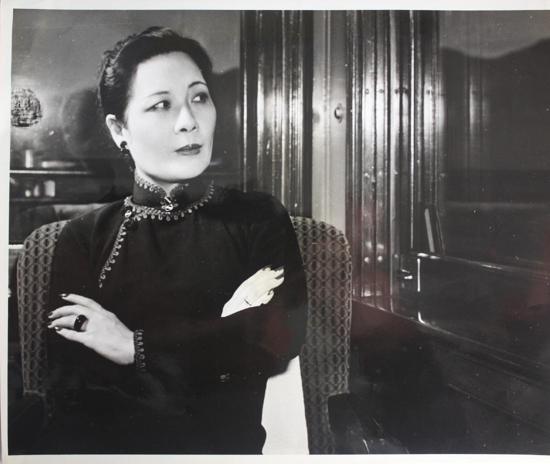 A Photo of Song May-Ling/ Mrs. Kai-Shek Chiang
