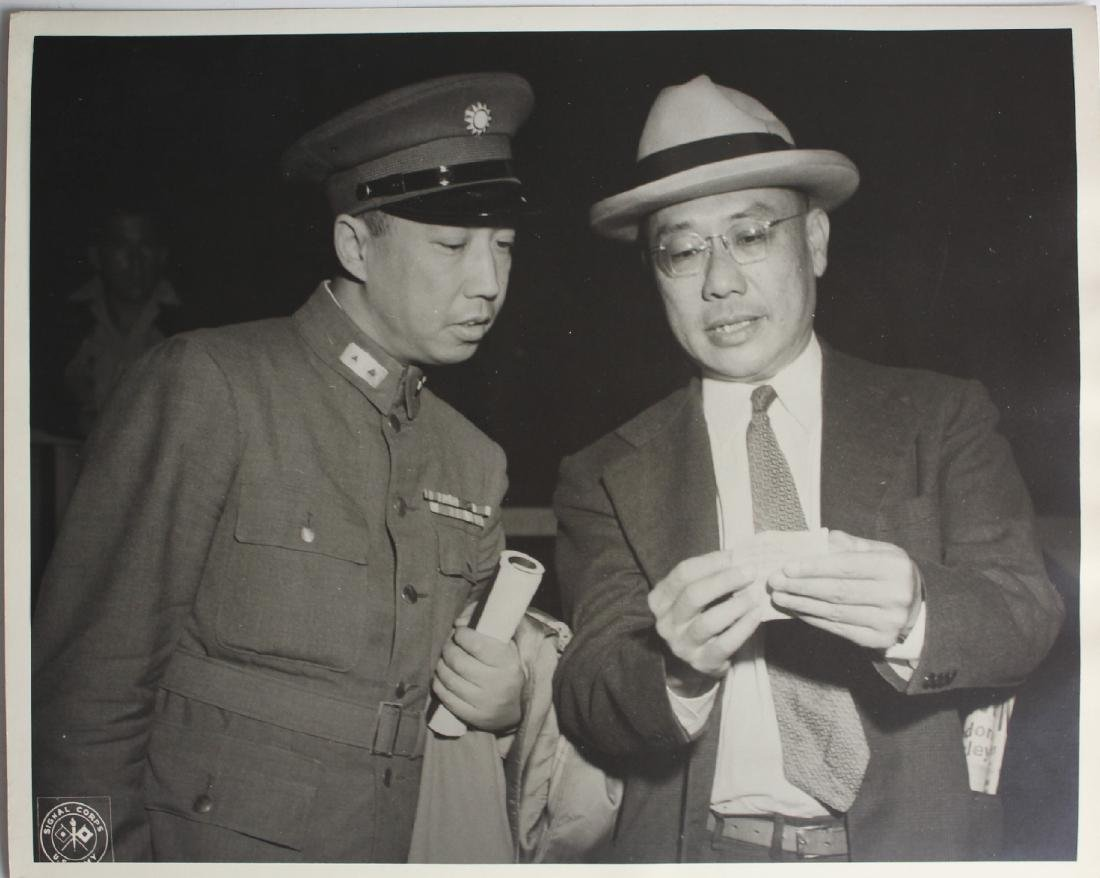 Photograpy of Chu Shi-ming member of the delegation