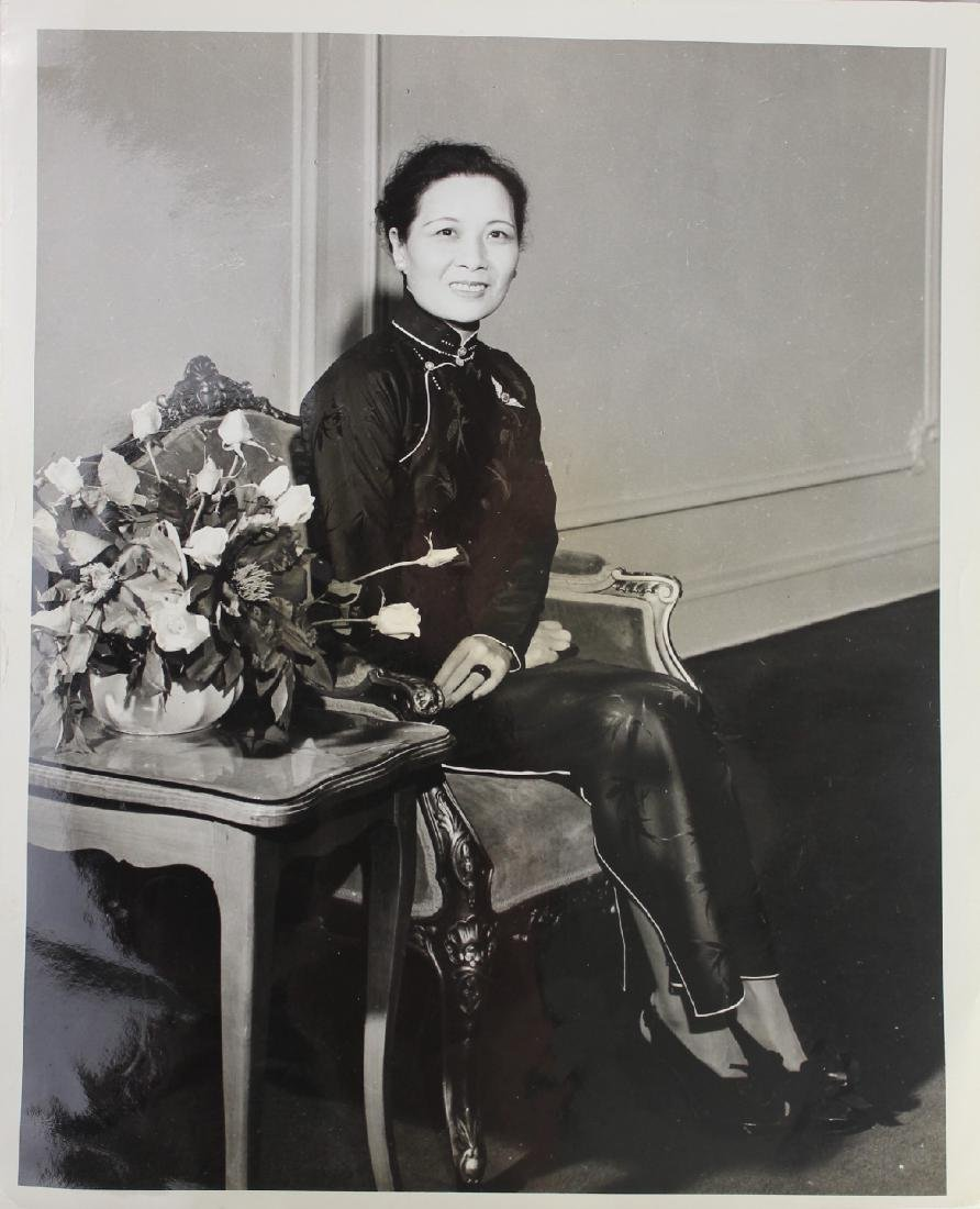 A Photo of Song May-Ling/ Mrs. Kai-Shek Chiang