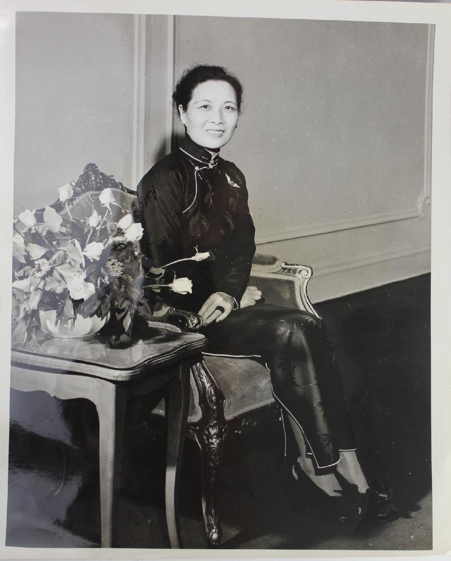 A Photo of Song May-Ling/ Mrs. Kai-Shek Chiang - 2