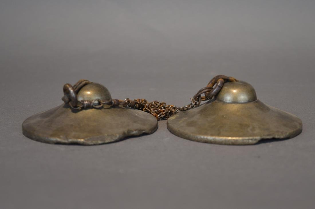 A Pair of Brass Cymbals