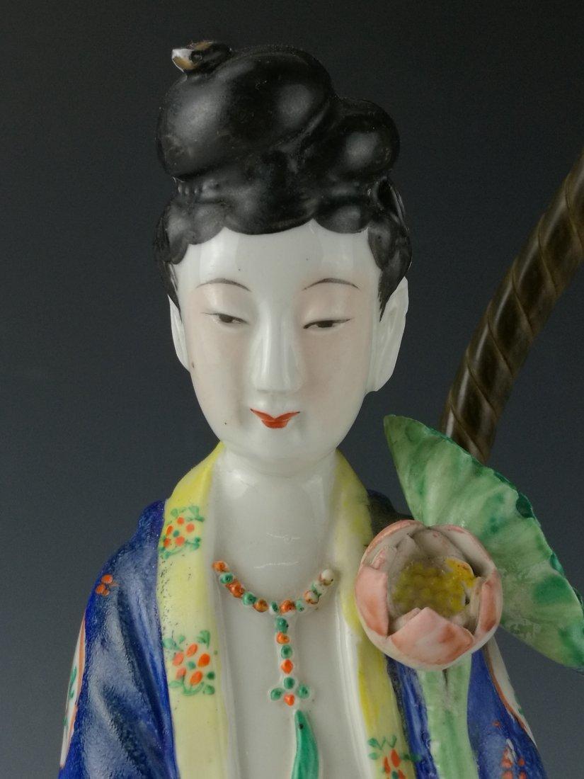 A pair of lamps of beautiful immortals,Tong Rufa Mark - 6