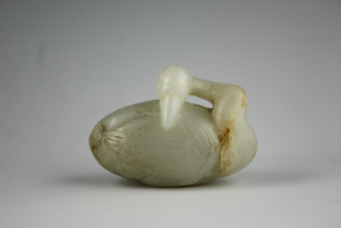 A rare Jade Swan - 2
