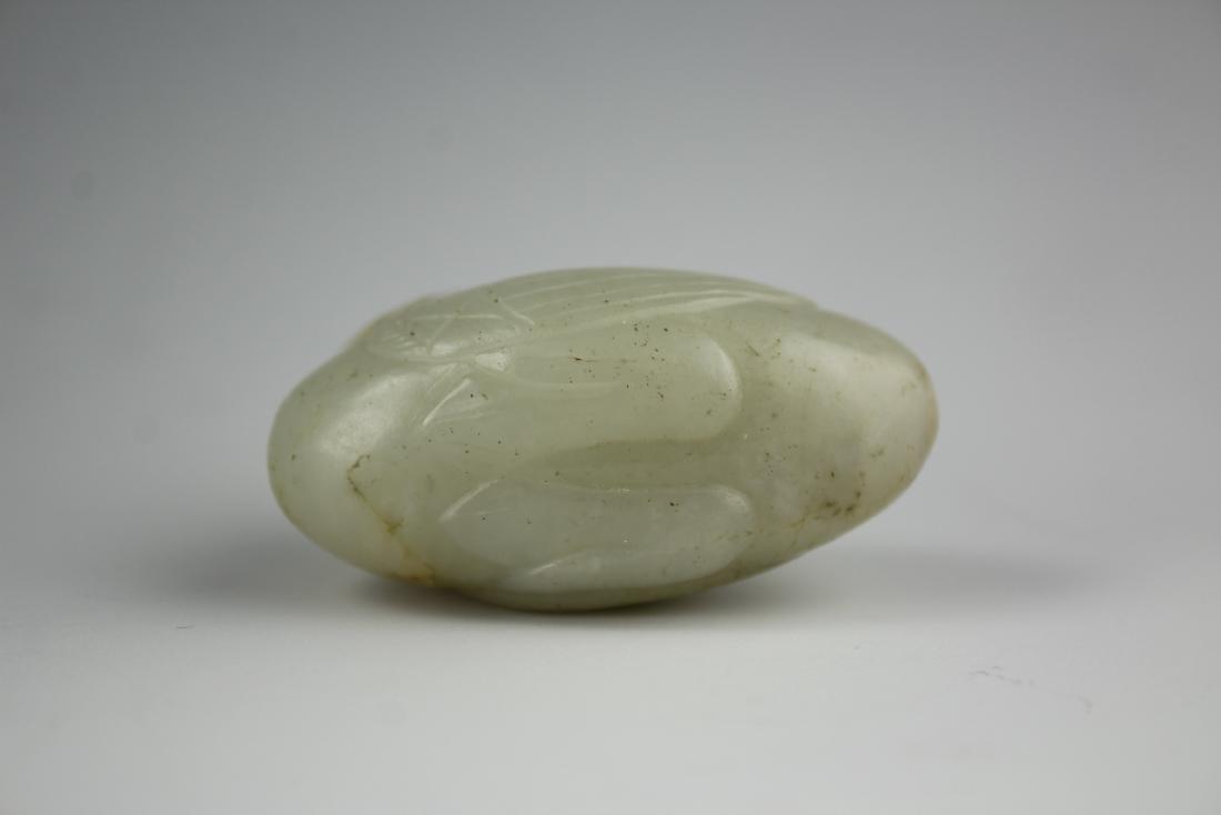 A rare Jade Swan - 5