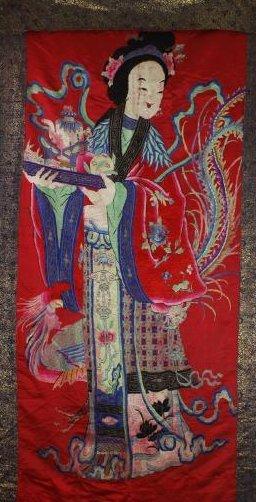 A Chinese Emboroidery of Ma Gu Xian Shou - 3