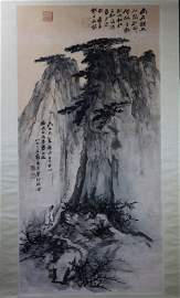 Light Color Lanscape Painting By Zhang Daqian 1899-1983