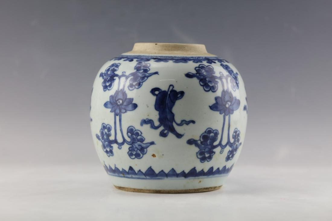 A Chinese Blue White Porcelain Vase - 3