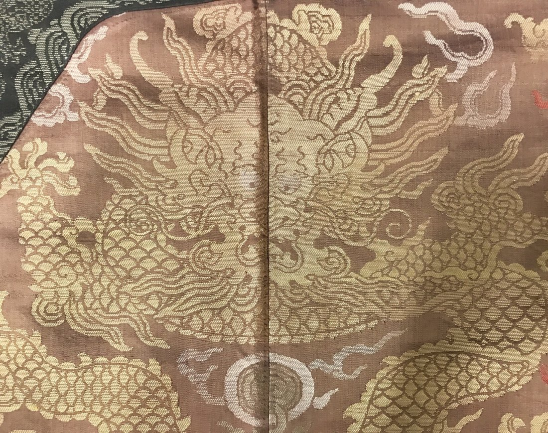Fine Chinese 19th Century Imperial Dragon Robe - 4