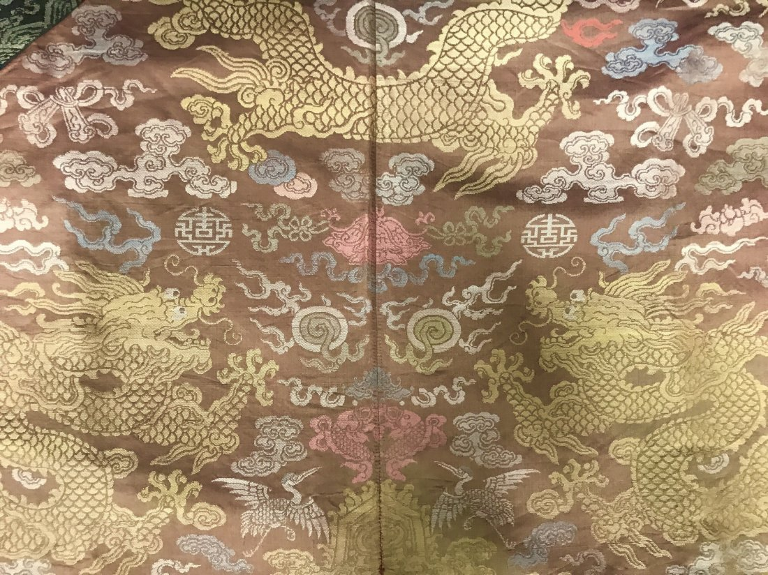 Fine Chinese 19th Century Imperial Dragon Robe - 5