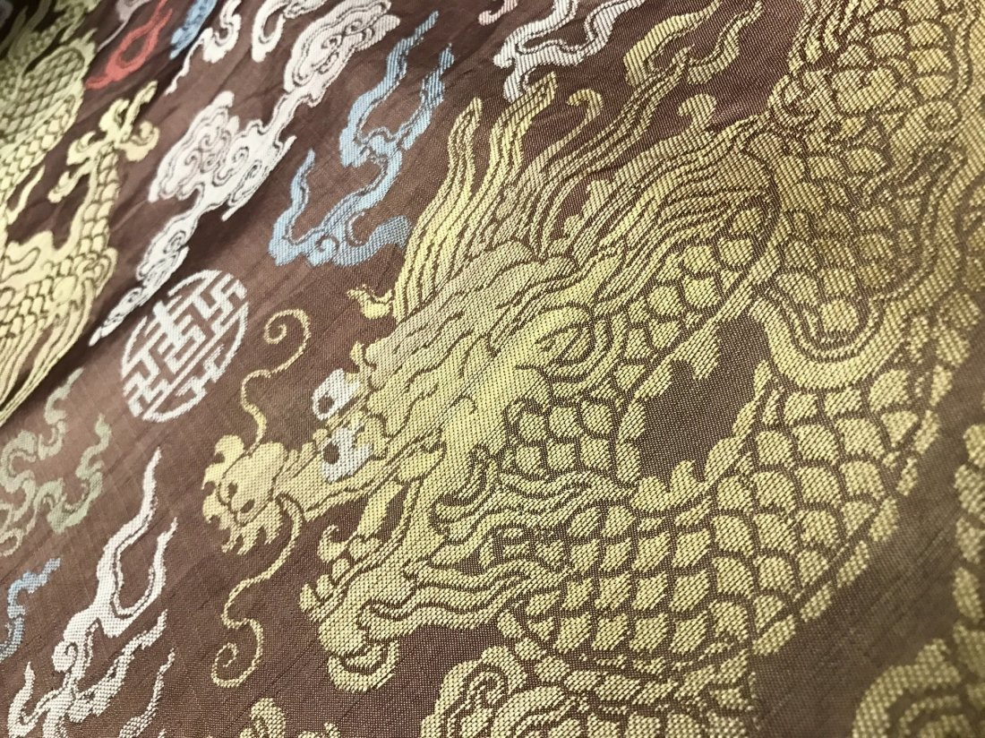 Fine Chinese 19th Century Imperial Dragon Robe - 6