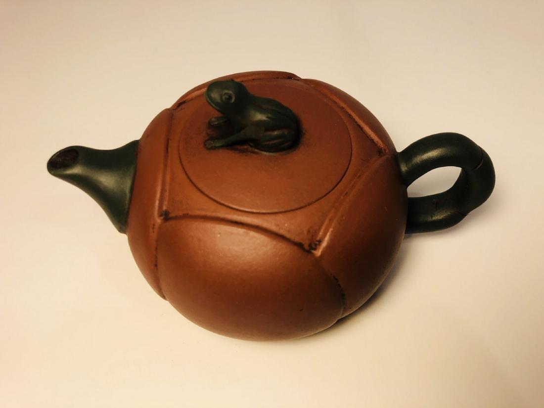 Zisha Clay Teapot Zhou Guizhen Mark