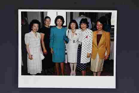 2 Photo Elaine ZhaoXiaolan with Julia Chang Bloch