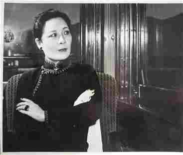 Song MeilingMadame Chiang Kaishek Photo