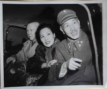 Madame Jiang Song Meiling and Chiang Kaishek Photo