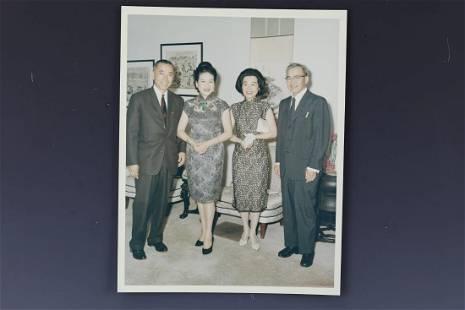 Photo of Ambassdor and Madame Tsiang Tingfu