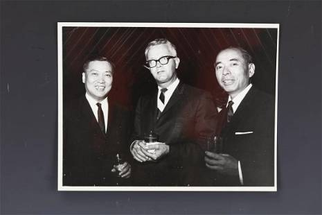 Congressman James R Grove photo Signed