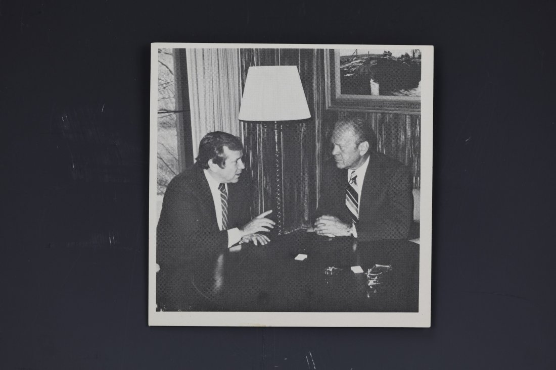 Two Gerald Ford Photo Signed - 2