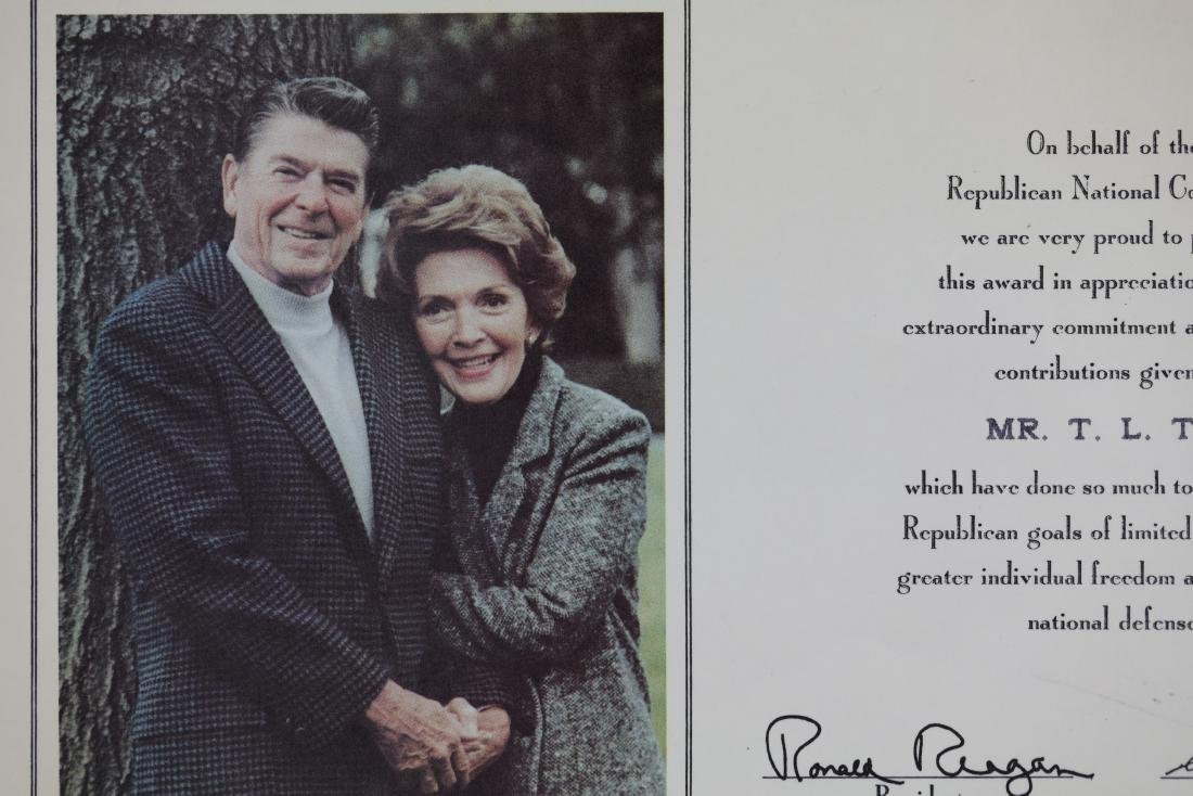 (2)President Ronald Reagan Signed Photo by Pete Souza - 3