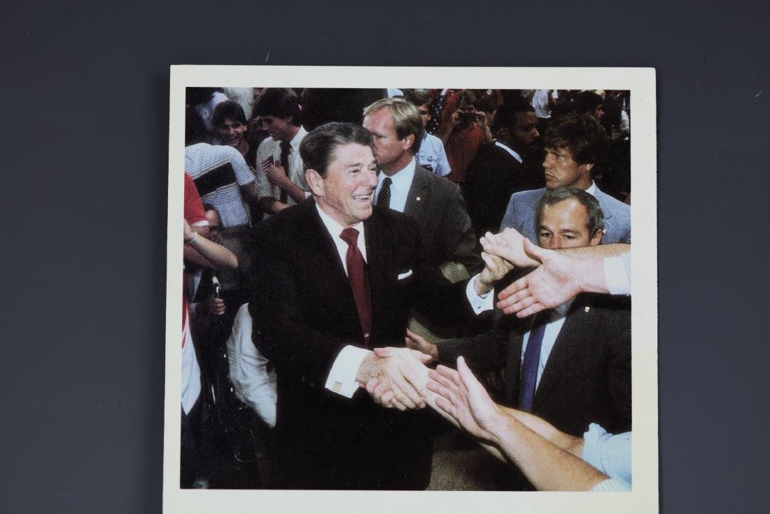 (2)President Ronald Reagan Signed Photo by Pete Souza - 5