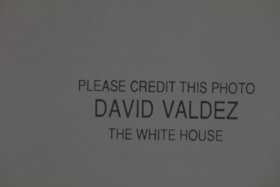 George Bush and Barbara Photo Signed by David Valdez - 3