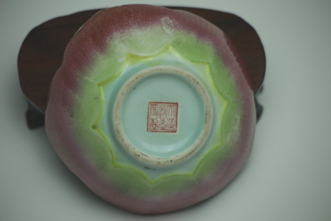 A Daoguang  Famille Rose Porcelain Lotus Bowl - 4