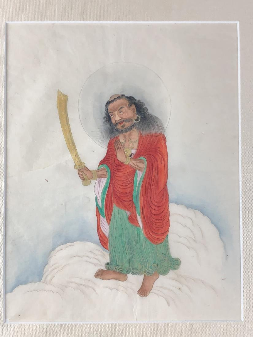 Two Unusual Painting of Luohan - 3
