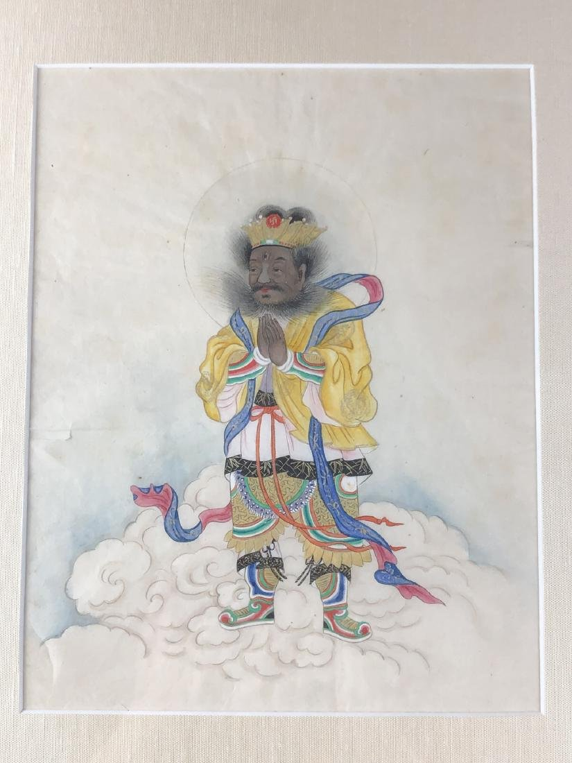 Two Unusual Painting of Luohan - 8